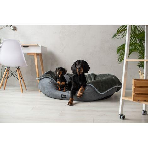 Legowisko ortopedyczne dla psa Nancy Premium - Alkantara