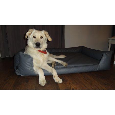 Legowisko ortopedyczne dla psa MAX - Eko Skóra